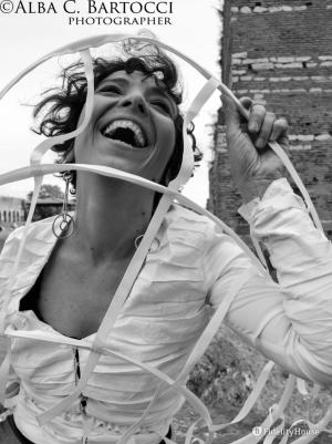 L'attrice Camilla Ribechi in: