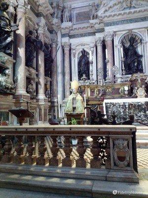 Cappella dell'Immacolata nella Chiesa del tesoro di San Gennaro