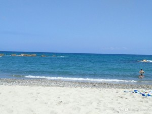 Le belle spiagge di Rometta Marea