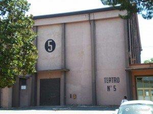 Il Teatro 5 di Cinecittà