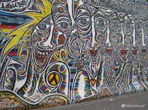 I colori sul muro di Berlino