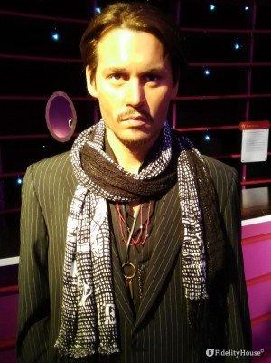 Statua in cera di Johnny Depp