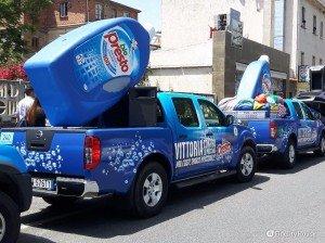 Sponsor Bio Presto nella Carovana del Giro d'Italia 2016