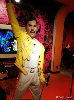 Freddie Mercury al museo delle cere di Vienna