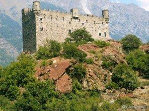 Castello di Ussel a Chatillon