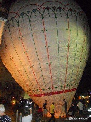 Il pallone della Madonna di Costantinopoli ad Acquaviva delle Fonti