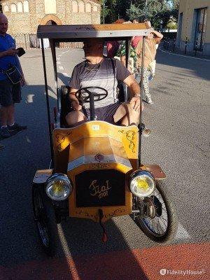 Fiat 1908, al Palio di Robbio