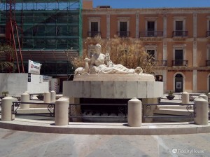 Piazza Fonte Diana a Comiso