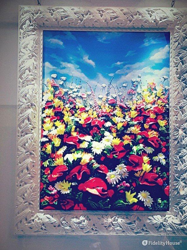 Massimo Meda, quadro tridimensionale - Fidelity Foto