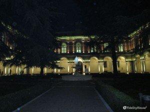 Padova – Ospedale vecchio, il chiostro