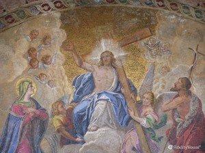 Il giudizio finale, mosaico Basilica di San Marco Venezia