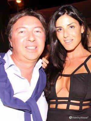 Barbara Francesca Ovieni, sexy infermiera al Grand Hotel Chiambretti