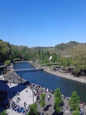 Il fiume Gave de Pau – Lourdes