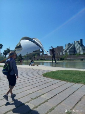Zona moderna di Valencia – Spagna