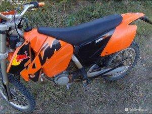 Motocicletta Ktm Exc 125