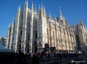 Il bellissimo duomo di Milano