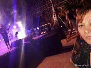 Il concerto di Irene Fornaciari