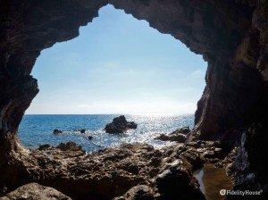 Grotta delle Tre Colonne, Cittadella del Capo (CS)