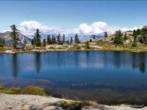 Lago Vallet in Valle d'Aosta