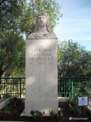 Busto di Vittoria Colonna Henriquez