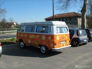 Il mitico furgoncino Volkswagen!