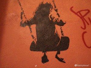 Street art nella metropoli torinese