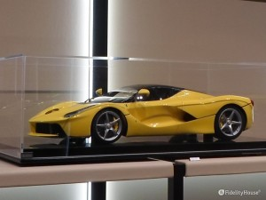 La Ferrari scala 1/8 interamente montata a mano da kit