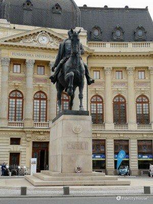 Statua equestre di Carol I a Bucarest