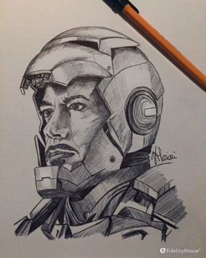 Omaggio a Tony Stark, alias Iron Man