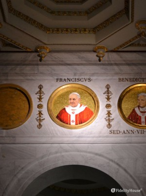 Papa Francesco, tra i papi a San Paolo