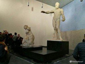 Statue originali di Scilla e di Nettuno scolpite dal Montorsoli (ME)