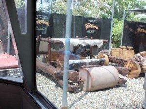 L'originale macchina dei mitici Flintstones