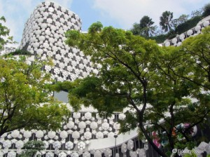 Splendidi palazzi a Singapore
