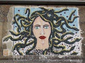 Mosaico sul porto di Cetraro –