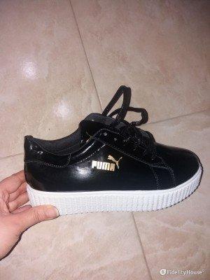 Le mie scarpe Puma per la pioggia