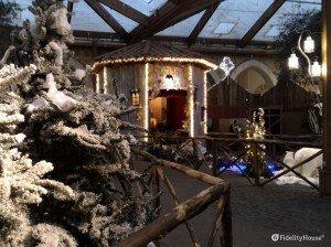 Villaggio coperto di Babbo Natale, Cava De' Tirreni (Salerno) – Italia