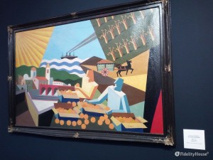 """""""Le arance di Sicilia"""", opera di Fortunato Depero (1927)"""
