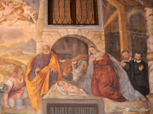 La nascita di Gesù – Scoletta del Carmine Padova