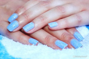 Frozen nail art – Unghie di ghiaccio