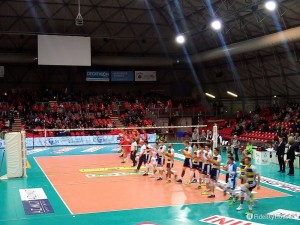 Volley superLega maschile serie A1: LPR Piacenza vs Azimut Modena