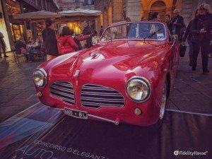 Fiat 1100 del 1949, prodotta dagli stabilimenti Farina