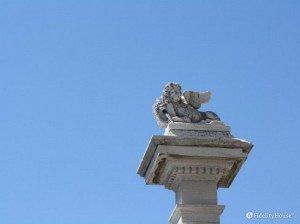 Non è il leone di Venezia, ma il gatto di Chioggia