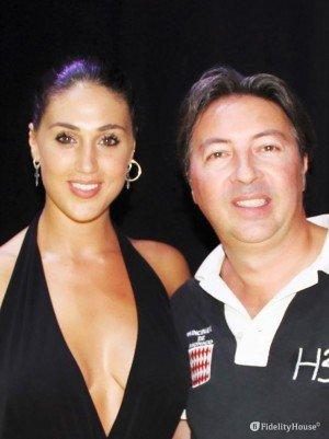 Cecilia Rodriguez, bellezza argentina al Mirano Summer Festival