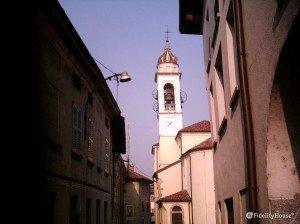 La chiesa di Casletto, nel comune di Rogeno (Lecco)