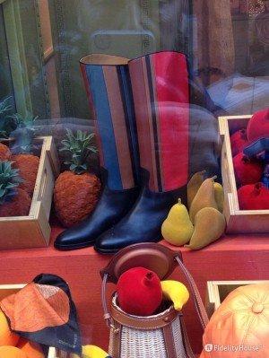 Hermes Milano: il colore in primo piano