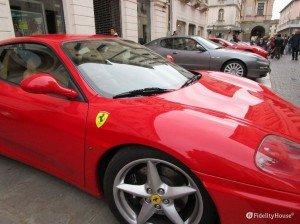 Ferrari in mostra a Padova