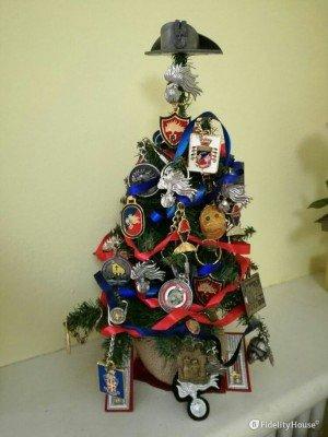 Albero di Natale dedicato ai Carabinieri