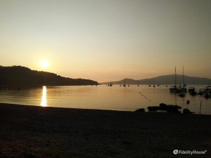 L'alba a Lacona – isola d'Elba