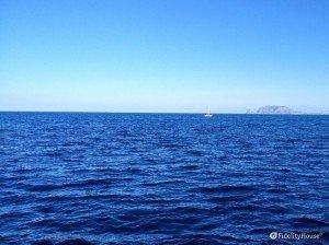 Il mare blu di Palermo