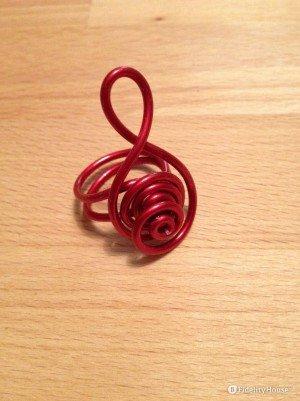 Un anello musicale molto particolare